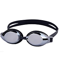 billiga Swim Goggles-Simglasögon Anti-Dimma Stöttålig Vattentät Teknisk plast PC Grå Svart Ljusrosa Mörkblå Ljusblå N/A