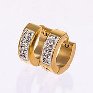 Pánské Peckové náušnice Náušnice - Kruhy bižuterie Umělé diamanty Šperky Pro Svatební Párty Denní Ležérní Vánoční dárky