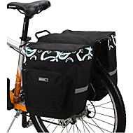 preiswerte Radtaschen-Fahrradtasche 30L Fahrrad Kofferraum Tasche/Fahrradtasche Wasserdicht tragbar Stoßfest Tasche für das Rad 600D Polyester Maschen