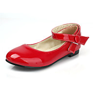 cheap Small Size Shoes-Women's / Unisex Shoes Patent Leather Spring / Summer Comfort / Mary Jane Flat Heel Buckle Red / Pink / Coral