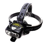 ヘッドランプ 自転車用ライト 自転車用ヘッドライト ヘッドライト LED Cree XM-L T6 サイクリング 耐衝撃性 充電式 防水 18650 3000 ルーメン バッテリー キャンプ/ハイキング/ケイビング 日常使用 サイクリング 旅行-XIE SHENG®