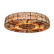 Tiffany Mennyezeti lámpa Kompatibilitás Nappali szoba Hálószoba Étkező Dolgozószoba/Iroda Gyerekszoba Bejárat Játékszoba Folyosó Az izzó