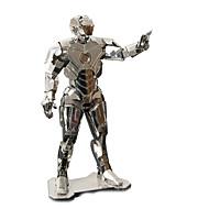 3D-puslespil Puslespil Metalpuslespil Modelbyggesæt 3D Metallegering Jern Metal 8 til 13 år