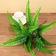 1 Gren Silke Planter Bordblomst Kunstige blomster 32CM