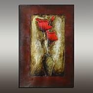 billiga Stilleben-Hang målad oljemålning HANDMÅLAD - Stilleben Moderna Med Ram