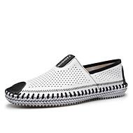 Pantofi barbati Outdoor / Casual / Atletic Piele Mocasini Albastru / Galbem / Alb / Bleumarin
