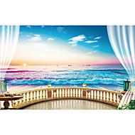 Χαμηλού Κόστους most popular-Art Deco Αρχική Διακόσμηση Σύγχρονο Κάλυψης τοίχων, Καμβάς Υλικό κόλλα που απαιτείται Τοιχογραφία, δωμάτιο Wallcovering