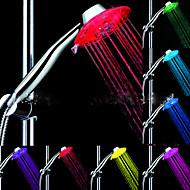 LED Zuhanyfej fény Víz Vízálló ABS