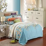 cheap Floral Duvet Covers-Cotton/polyester Duvet Cover Set 1pc Duvet Cover 1pc Bed Sheet Set 2pcs Pillowcase Bedding Set Twin 3pcs