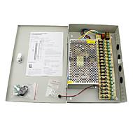12v 20a dc 18 caja de suministro de energía auto-reset / fuente de alimentación 12V20A / fuente de alimentación de conmutación, 110 / 220v de entrada