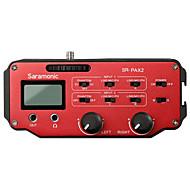 SR-PAX2 Rød 9V Battery Studio mikrofon