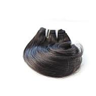 billige -Menneskehår Vevet Brasiliansk hår Bølget 6 måneder 1 Deler hår vever