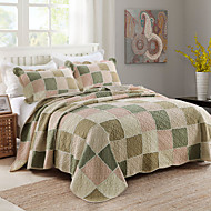 cheap Quilts & Coverlets-Comfortable Plain 100% Cotton Cotton Plain 100% Cotton Cotton Quilted Geometric