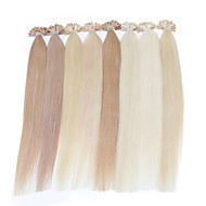 Neitsi 16inch Highlight Straight U Nail Tip Prebonbded Hair Extension 25g Human Hair