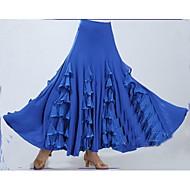 Χαμηλού Κόστους -Επίσημος Χορός Παντελόνια Φούστες Γυναικεία Επίδοση Πολυεστέρας / Mohair Που καλύπτει / Με διαδοχικές σούρες Αμάνικο Χαμηλή Μέση Φούστα