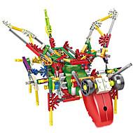 조립식 블럭 교육용 장난감 과학&디스커버리 완구 장난감 비행기 기계 로봇 잡다한 것 1 조각