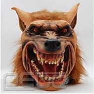 halloween latex masker griezelige wolf hoofd dier masker halloween kostuum volwassen partij maskers te laten vallen