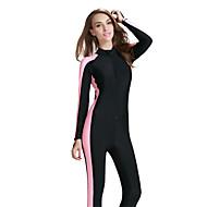SBART Kadın's 2mm Islak Suit Full Dalış Elbisesi Dalış Skins Ultravioleye Karşı Dayanıklı Nefes Alabilir Sıkıştırma Tam Kaplama Tactel