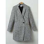 Cappotto Per donna Tinta unica Moderno