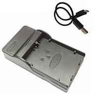 מטען לסוללת מצלמה ניידת מייקרו USB lpe5 עבור EOS 450D Canon 500D 1000D kissx2 kissx3