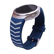 billiga Smart klocka Tillbehör-Klockarmband för Gear S2 Samsung Galaxy Sportband Silikon Handledsrem