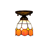 billige Taklamper-Takplafond Nedlys - LED designere, Tiffany, 110-120V 220-240V, Gul, Pære ikke Inkludert