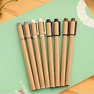 Pen Pen Gel Pennen Pen,Papier Vat Willekeurige Kleuren Inktkleuren For Schoolspullen Kantoor artikelen Pakje
