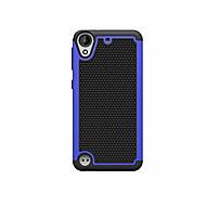 billiga Mobil cases & Skärmskydd-fodral Till Övrigt HTC HTC Desire 626 HTC-fodral Stötsäker Läderplastik Skal Rustning Hårt PC för