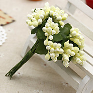 12 haara / kimppu simulointi villi hedelmä keinotekoisia kukkia sisustuksessa
