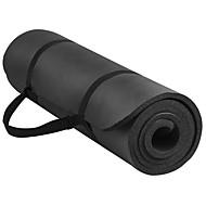 billige Matter-Yogamatte Lugtfri, Økovennlig, Sklisikker NBR Til Grønn, Rosa, Marineblå