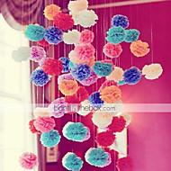 Χαμηλού Κόστους Λουλούδια από Χαρτοπετσέτες-Χριστούγεννα / Halloween / Γενέθλια / Αποφοίτηση / Πάρτι πριν το Γάμο / Χοροεσπερίδα / Ημέρα του Αγίου Βαλεντίνου / Baby Shower Χαρτί