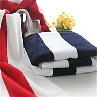 Frisk stil Badehåndkle,Garn Bleket Overlegen kvalitet 100% Bomull Håndkle