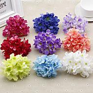 1 Gren Plastikk Hortensiaer Bordblomst Kunstige blomster