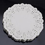 """billige Bakeredskap-6,5 """"blonder runde 100 stk papir doilies kake placemat håndverk coasters bryllupsfest bord dekorasjon dia 16.5cm"""