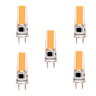 5W G8 LED betűzős izzók T 1 led COB Tompítható Dekoratív Meleg fehér Hideg fehér 350-450lm 2800-3200/6000-6500K AC 220-240 AC 110-130V