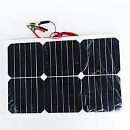zdm® 20w 12v de ieșire panou solar 1.35a siliciu monocristalin (dc12-18v)