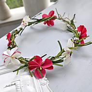 billiga Brudhuvudbonader-Resin Blommor 1 Bröllop Hårbonad