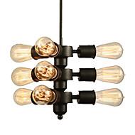 Retro Luzes Pingente Para Sala de Estar Quarto Sala de Jantar Quarto de Estudo/Escritório Entrada Corredor Lâmpada Não Incluída