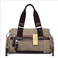 Men Bags Canvas Travel Bag for Casual Outdoor Black Coffee Army Green Khaki