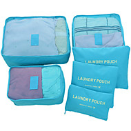 cheap Storage & Organization-Large 6 Sets Of Waterproof Clothes Underwear Finishing Package Suit Travel Luggage