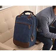 Men Bags Canvas Backpack for Sports Outdoor Coffee Blue Khaki Royal Blue
