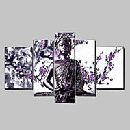 hesapli Artist - Mike Zhang-El-Boyalı İnsanlar herhangi Şekli Tuval Hang-Boyalı Yağlıboya Resim Ev dekorasyonu Beş Panelli