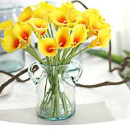 Fleurs artificielles 1 Une succursale Style moderne Calla Lily Fleur de Table