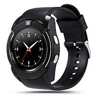 tanie Inteligentne zegarki-Inteligentny zegarek Ekran dotykowy Krokomierze Kamera/aparat Anti-lost Dźwięk Rejestrator aktywności fizycznej Rejestrator snu Budzik