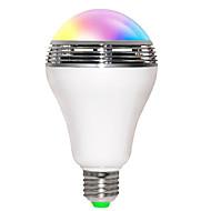 お買い得  LED電球-JIAWEN 5W 200-250 lm E26/E27 LEDスマート電球 B 10 LEDの SMD 5730 Bluetooth WiFi 音検知 RGB AC85-265V