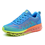 cheap Clearance-Men's Shoes PU Spring Fall Sneakers Running Shoes for Athletic Casual Orange Blue Black/Red