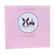 cor-de-rosa outro material de embalagem& transporte saco de presente um pacote de dois, venda: rosa