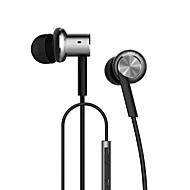 levne Počítačové doplňky-Xiaomi Hybrid V uchu Kabel Sluchátka hybridní Plastický Mobilní telefon Sluchátko S ovládáním hlasitosti s mikrofonem Izolace proti hluku