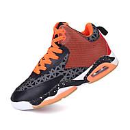 紳士靴は赤/青/黒の運動靴バスケットボールマジックテープを牛革