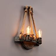 baratos Ofertas Semanais-Vintage / Regional Luminárias de parede Metal Luz de parede 220V / 110V 60W